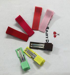 35 мм Мини-девушка ленты для волос луки клип двойной зубной лентой подкладки аллигатор для волос аксессуары для волос FJ3203