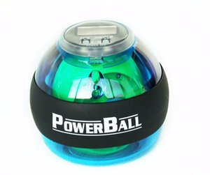 Free Shipping New Style Power Gyroscope LED Wrist Strengthener Ball+SPEED METER   Power Grip Ball   Power Ball