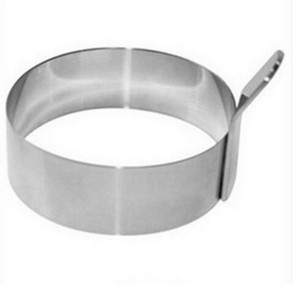 Circular thick 304 stainless steel creative fried egg omelette circle mold egg pancake rings