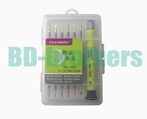 12 en 1 Kit T2 T4 T5 T6, 0.8 1.2Pentalobe, 1.5 2.0 Phillips 1.5 2.0Slotted Y Screwdriver para Tablet PC Laptop Reparación de teléfonos celulares 300sets / lot.