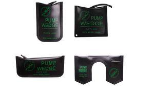 4pcs lot New Klom Air Wedge Pump Wedge Auto Locksmith Tool S M L U Lock Picking Tools Set Auto Entry Tools
