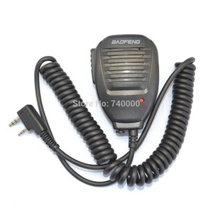 Spedizione gratuita Radio Speaker MIC per BAOFENG Walkie Talkie UV-5R 5RA 5RB 5RC 5RD 5RE 5REPLUS