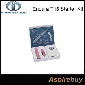 100% originale Innokin Endura T18 Kit 2.5mL Prisma T18 Serbatoio con 1000mah Innokin Endura T18 Batteria ENDURA Innokin Starter Kit