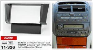 Carav 11-326 фасция Радио верхнего качества для LEXUS LS-430(UCF-30)/набора установки уравновешивания компактного диска черточки фасции Тойота Celsior (UFC30)стерео