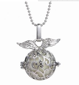 Embarazo Ball Bola 3 colores Angel ball en colgantes Chime open hollow Necklace Jewelry colgante