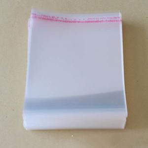 500 stücke 6x8 cm Klar Selbstklebende Dichtung Plastiktüten OPP Express Verpackungsbeutel Schmuckbeutel