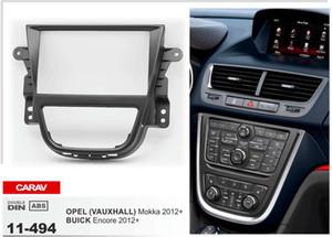 CARAV 11-494 Fascia radio di alta qualità per BUICK Encore / OPEL Mokka / Vauxhall MokkaStereo Fascia Dash CD Kit di installazione