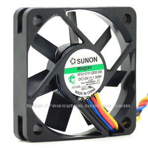 Оригинальный Sunon MF50101V1-Q030-S99 5010 12V 1.50W 5см четырехпроводный PWM вентилятор охлаждения