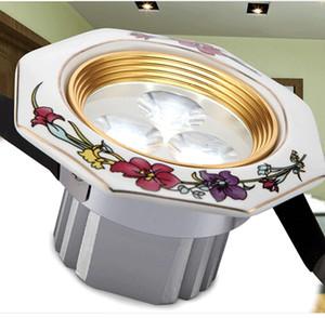 뜨거운 판매 특별 제안 따뜻한 화이트 쿨 화이트 루스 스폿 Led 로즈 시리즈 세라믹 빛의 품질 Downlight 현대 간략한 소박한 램프 3w