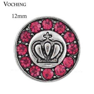 Vocheng Noosa Değiştirilebilir Takı Aksesuar Küçük 12mm Vahşet Metal Snap Düğmesi (Vn-433)