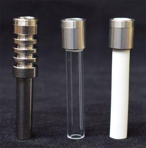 Завод прямых продаж Замена Titanium Thread Керамические Кварц Советы для Нектар Коллектор Kit Concentrate Dab соломы