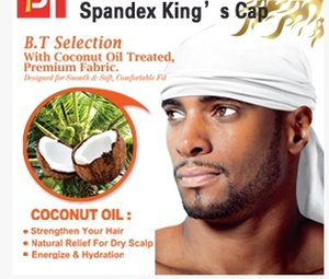 Оптовая торговля-мода хип-хоп шляпа Европейский хип-хоп шарф мужской спандекс Король Durag Skullies шапочки