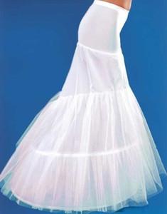 2015 Hot Mermaid Wedding Sottogonne Canotte Tromba Sottogonne Per Abiti da Ballo Scollo Sottoveste Plus Size Crinoline Sottoveste