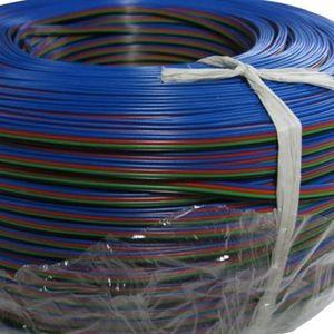 100M / lot 4pin 케이블 주도 accessaries 사용 5050/3528 RGB led 스트립 연결 케이블 RGB 4PIN 연결 케이블 와이어