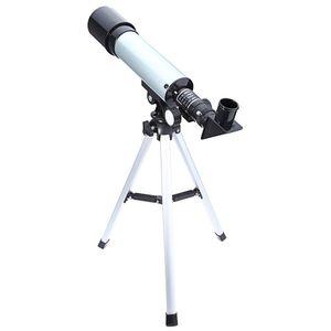 F36050 360/50 ملليمتر في أحادي التلسكوبات الفلكية الإكتشاف نطاق الانكسار مع ترايبود المحمولة 1 قطعة / الوحدة