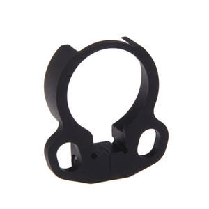 Universal Adjustable Dual Loop Stock End Plate Sling Attachment Adapter Mount