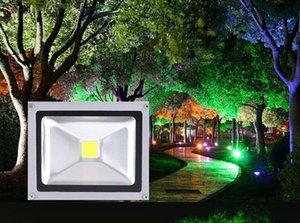 100pcs 20W extérieur étanche IP65 LED projecteurs Projecteur AC 85-265 Volts Brillant Puce Lampes de Lavage Mural Éclairage Blanc Chaud Blanc Froid Rouge