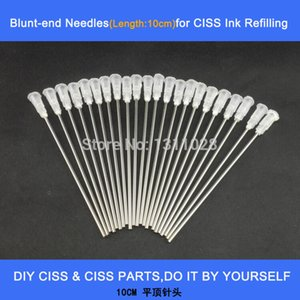Long blunt needles for DIY CISS and Refillable Cartridges as ink refilling tool,40PCS 1 LOT