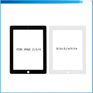 아이 패드 아이 패드 화이트 블랙 무료 배송 2 3 4 미니 1/2/3 터치 스크린 디지타이저 유리 전면 렌즈 교체 부분을 위해