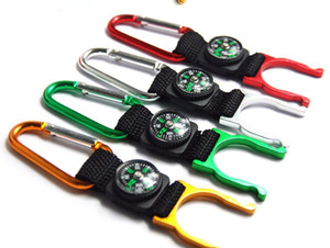 Carabiner Clip Water Bottle Holder Camping Compass Snap hook clip-on outdoor ,M