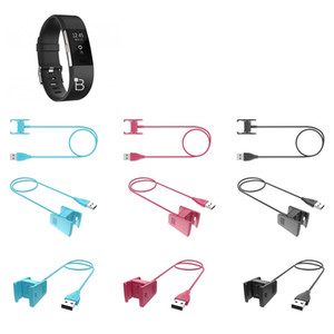 100 CM 55 CM USB Carregador Para Fitbit Charge 2 Substituição USB Charger Cabo de Carregamento Cradle Dock Adaptador para Fitbit Charge 2 Heart Rate