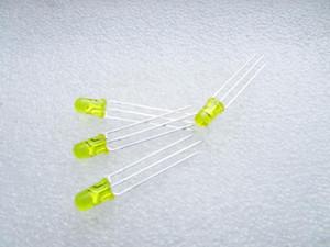 F5 강조 5MM 빨간색과 노란색 일반적인 음극 led 컬러 LED 조명 튜브 충전기 표시기