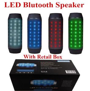 BQ-615 Mini beweglicher Fahrrad-Sport drahtloser Bluetooth-Lautsprecher mit Magie bunte LED-Leuchten TF-Karten-Slot Lautsprecher Tanzen