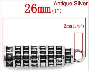 Spedizione gratuita! Moda pendenti di fascino italia torre pendente di pisa argento antico 26x7mm, 20 pz (B21472) charms, fai da te