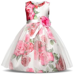 Princess Baby Girls Party Dress Christmas Gift New Fashion Kids Clothes Wedding Bridesmaid Formal Girls Clothing Graduation Prom T200624