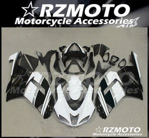New ABS Whole Fairings kits fit for Kawasaki Ninja ZX-6R 636 2007 2008 07 08 ZX6R Bodywork set Black White