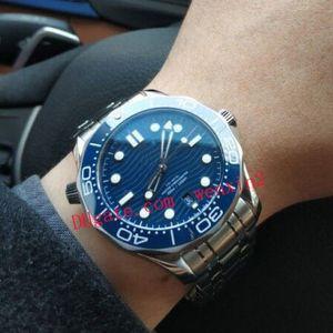 20 cor 41mm 2813 mecânica relógio automático de aço inoxidável 300m negócio moda mens relógios clássico relógios de pulso