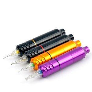 Наборы татуировки Одиночные наборы Постоянные Makup Ротационная машина для бровей Dermografo Microblading Pen Micropigmation DC 5.5 мм