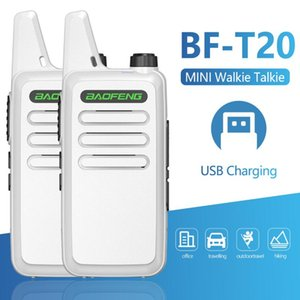 Walkie Talkie 2 PCS Baofeng Professional BF-T20 16 Channels UHF 400-470MHZ Support USB Charging For BF-C9 BF-888S Two Way Radio