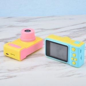 2019 Mini cámara digital de 2 pulgadas Dibujos animados de dibujos animados lindo juguetes de cumpleaños niños regalo de año nuevo regalo de Año Nuevo 1080p Toys Toys Cámara 20pcs 740 S2