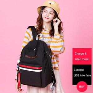 Backpack Large Capacity High Schoolbags Women Waterproof Shoulder Bags Female Girl Travel Back Pack Mochila 2021