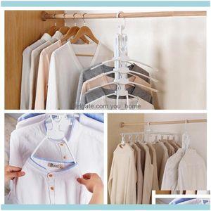 Clothing Housekeeping Organization Home & Gardenmultifunctional Wardrobe Magic Hanger Foldable Clothes Storage Hangers Household Multi-Layer
