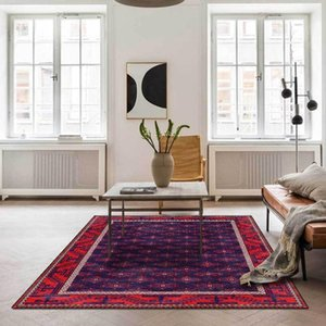 Carpets Persian Vintage For Living Room Bedroom Area Rugs Bohemia Parlor Absorbent Carpet Ethnic Non-Slip Home Morocco Retro Mat