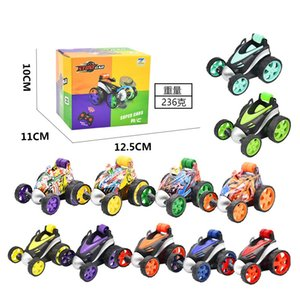 2pcs Wireless remote Flip car electric tumbling stunt graffiti control Christmas gift kids competition toys