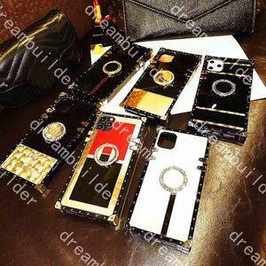 Estuches para teléfono de moda para iPhone 12 Pro Max 11 11PRO 11PROMAX CASE 7 8PLUS X XR XS XSMAX Acrílico Hard Hard Samsung Galaxy S10 S11 S20 Plus Note10 10P