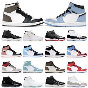11s الأسهم X 9 9S الرجال لكرة السلة UNC DREAM IT DO IT سوداء الأبيض OG ازدحام الفضاء الصالة الرياضية حمراء الرياضة احذية مصمم أحذية