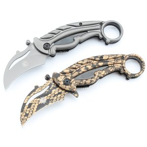 Claw knife X63 coating Tactical Survival tool utility camping outdoors folding combat hunting pocket knives