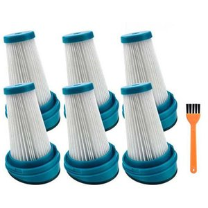 Vacuum Cleaners 6 Pack Replacement Filter For SVF11 2-In-1 Cordless Lithium Stick Vacuums HSV320J HSV420J HSV520J