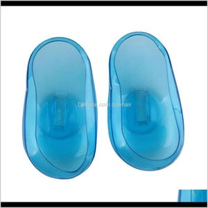 Colors Care & Tools Products Drop Delivery 2021 1 Pair High Quality Clear Sile Ear Cover Hair Dye Shield Protect Salon Color Blue Styling Acc