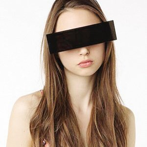 Sunglasses Futuristic Scanning Men Black Flat Top Party Prom Rectangular Eyeglasses Women Large Frame Sun Glasses Unisex
