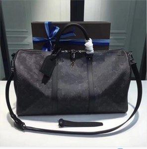 2021 Duffle Bag Classic 45 50 55 Туристический багаж для мужчин Настоящая кожа Высочайшее качество Женщины Crossbody Totes Сумки на плечо Мужские Женские Сумки 5 Цветов Aaaaa8