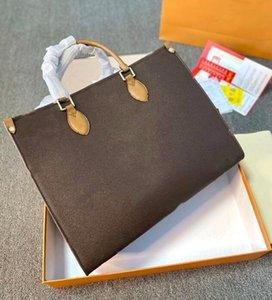 M45320 Caja de regalo Embalajes Lujos de Lujos Diseñadores Bolsos Totes Classic Totes Imprimir Impresión en relieve Flower Bolsos Monederos Viajes Bolsa de equipaje Compras Hombro Crossbody