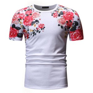 Summer Men Women Beautiful Flowers Printed T-shirt Harajuku Floral Short Sleeve Tee Homme Streetwear Camiseta Hombre