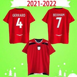 Англия майка 2008 2009 2010 ретро футболки ретро BECKHAM ROONEY 08 09 10 футболки классический дом на выезде белый красный J. COLE GERRARD FERDINAND TERRY FLAHERTY