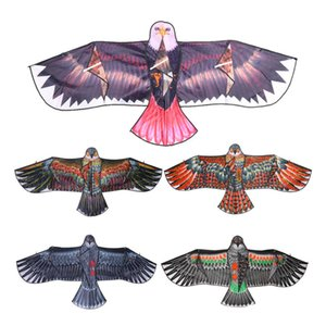 1.1m Huge Novelty Eagle Flying Children Recreational Sports Fun Kite Easy Family Outings Outdoor Control