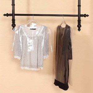 Clear Plastic PVC Kids Children Clothes Dust Cover Shirt Suit Jacket Garment Bag Storage Protector UTP2 S5U1